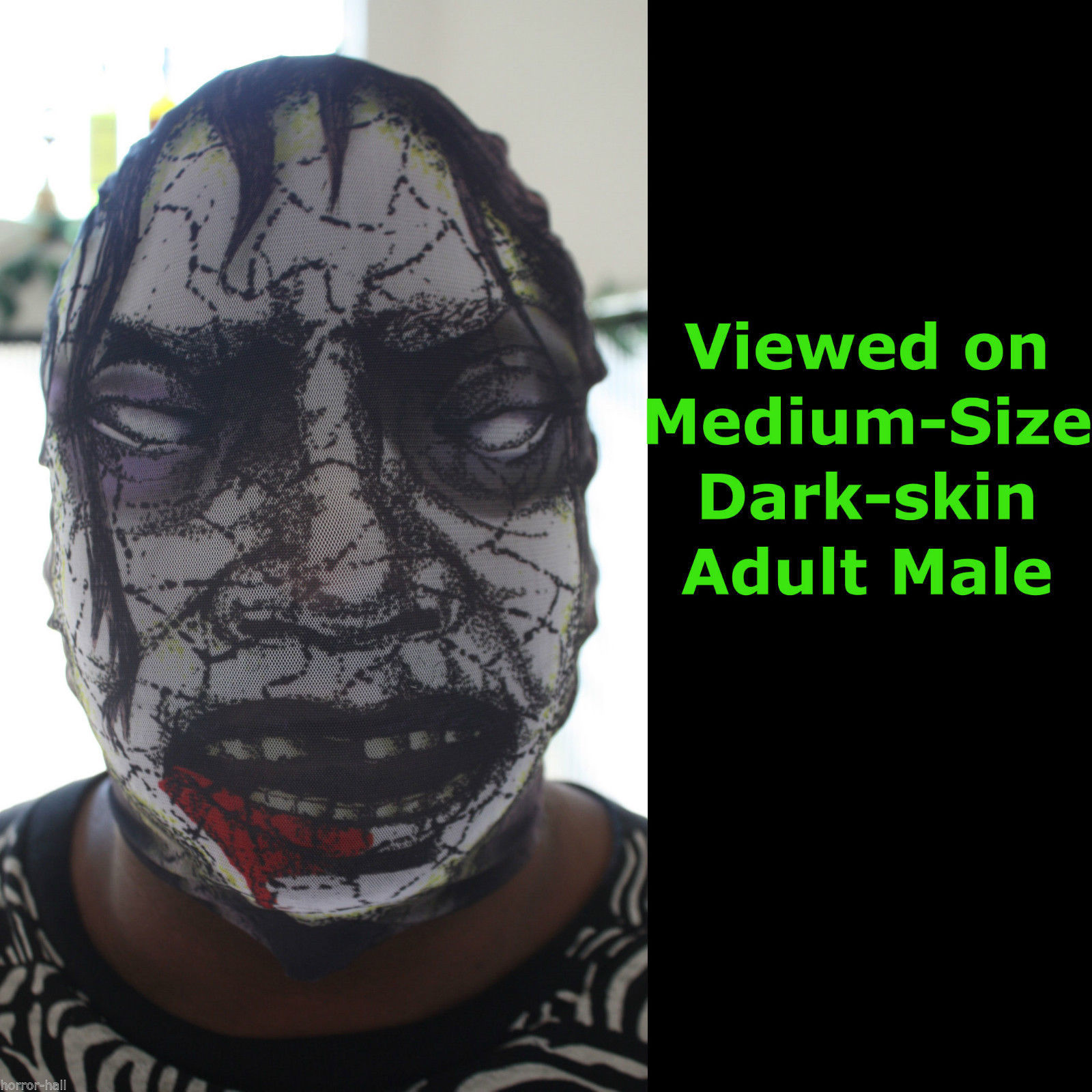 Full Head Zentai Morph Stretch Zombie Mask and 31 similar items