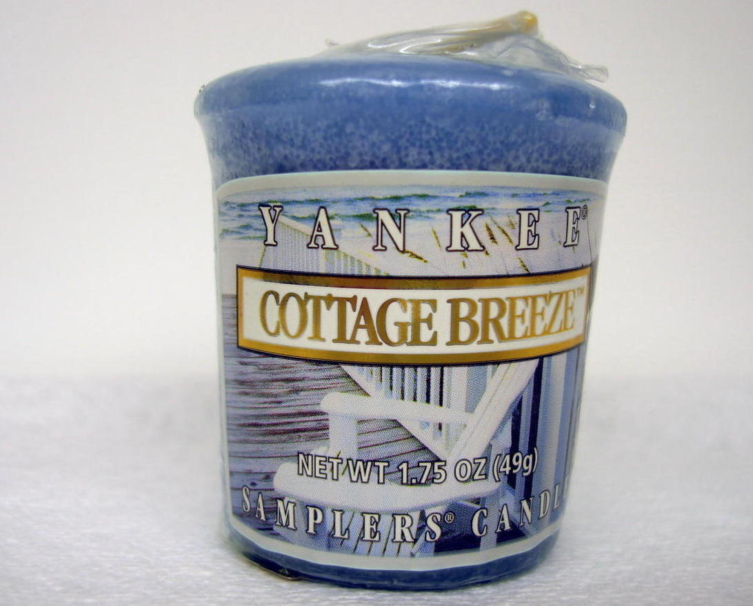 Primary image for Yankee Candle 4 Count Cottage Breeze Scent Votive Home Decor