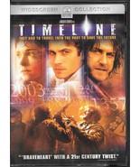 Timeline (DVD, 2004, Widescreen) - $1.50