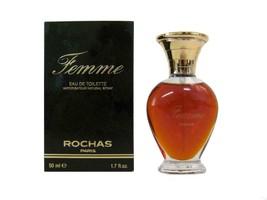 "FEMME by ROCHAS1.7 Oz EDT Spray for Women ""Vintage Version"" box slightly... - $39.95"