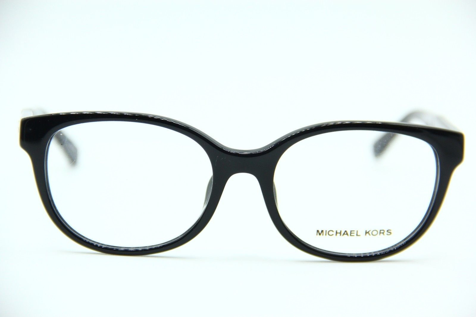 NEW MICHAEL KORS MK 4032F 3168 BLACK EYEGLASSES AUTHENTIC RX MK4032F 49-17
