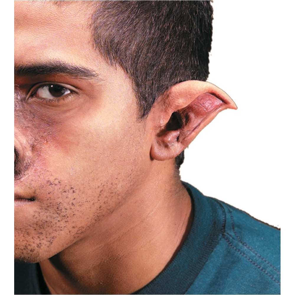 POINTED EVIL ELF EARS VERY REALISTIC
