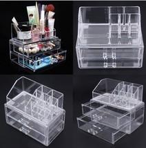 Acrylic Cosmetic Makeup Storage Organizer Storage Cosmetic Box Clear Box... - $799,25 MXN