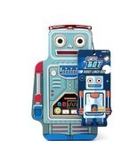 SUCK UK Robot Tin Lunch Box - $34.39 CAD