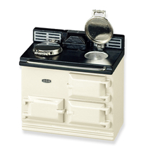 Dollhouse Aga Stove 17796 Reutter Stove Beige Miniature 1-12 gemjane - $34.00
