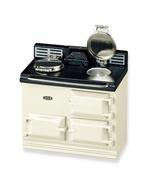 DOLLHOUSE Aga Stove 1.779/6 Reutter Kitchen Beige Miniature - $37.50