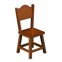 Dollhouse Country Kitchen Chair 1.748/5 Wood Reutter Porcelain Miniature - $16.58