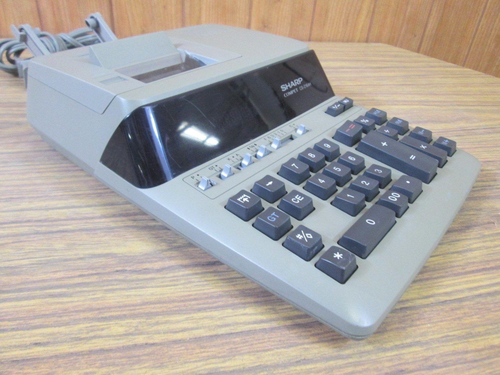 sharp adding machine
