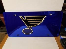 NHL St. Louis Blues Laser License Plate Tag - Blue - $29.39