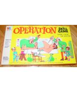 OPERATION SKILL smoking doctor  1965 MILTON BRADLEY #4545 COMPLETE  - $25.00