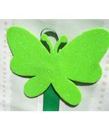 Butterfly Hair Clip Accessory Holder - Green:  Handmade - $5.00