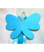 Butterfly Hair Clip Accessory Holder - Blue:  Handmade - $5.00