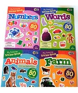 My Favorite Sticker Books - Animals, Words, Numbers, Farm [Paperback] Ed... - £16.56 GBP