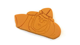 "Dragon's Lair Dirk The Daring Cookie Cutter 3 1/2"" x 2 1/4"" - $8.99"