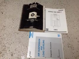 1991 Dodge Dakota Truck Service Repair Shop Workshop Manual Set Oem Worn W Drb B - $33.61