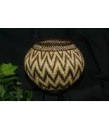 Authentic Panama Rainforest Wounaan Indian Hösig Di Motif Artist Basket ... - $740.99