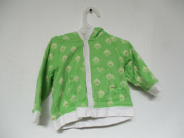 Children's Place Baby Chicks Size 6-9 Months Green Long Sleeve Hoodie Jacket - $20.00