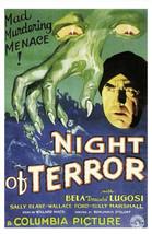 Bela Lugosi NIGHT OF TERROR Classic Horror DVD - $9.99