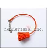 AUTH NWB Hermes Carmencita GM Carmen Pompom Bookmark or Bag Charm Lambsk... - $260.00