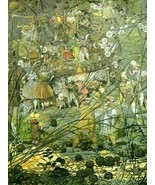 12X16 inches Richard Dadd CanvasCanvas Print the Fairy Feller's Master-S... - $13.70