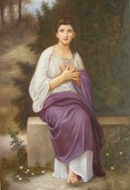 24X36 inch Bouguereau Repro Oil Painting L'Eveil Du Coeur - $47.04