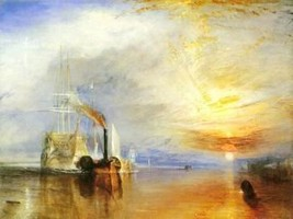 16X20 inches Joseph Turner Canvas Print Repro Fighting Temeraire - $23.70