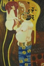 24X36 inch Gustav Klimt Oil Painting The Beethoven freize - $26.45