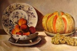 24X36 inch Claude Monet Painting Repro Still Life With Melon - $26.45
