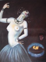 20X24 inch Franz von Stuck Oil Painting Repro Dancing Salome - $17.64