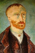 24X36 inch Gogh Painting Repro Self-Portrait to Paul Gauguin - $23.81