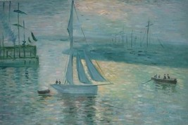 24X36 inch Claude Monet Impressionism Painting Repro Suise - $23.81