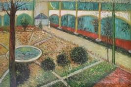 24X36 inch Van Gogh Oil Painting Repro The Hospital at Arles - $23.81