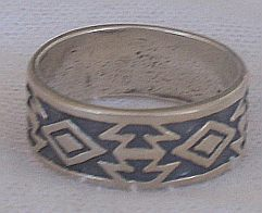 Primary image for Oxidized shapes ring