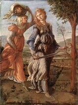 16X20 inches Botticelli Canvas Print the return of Judith to Bethulia - $23.70