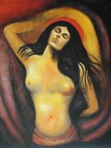 20X24 inch Edvard Munch Religion Oil Painting R... - $17.64