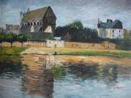20X24 inch Claude Monet Painting Monets garden in Vetheuil - $17.61