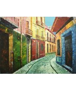 20X24 inch Cityscape Hand-painted Painting Houses In Venice - $17.61