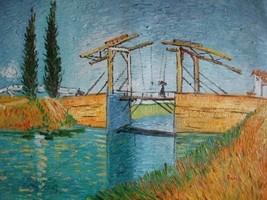 20X24 inch Van Gogh Oil Painting Langlois Bridg... - $17.61