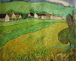 20X24 inch Gogh Painting Repro View of Vessenots Near Auvers - $17.61