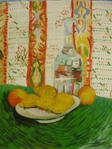 20X24 inch Van Gogh Painting Still Life with Decanter&Lemons - $17.61