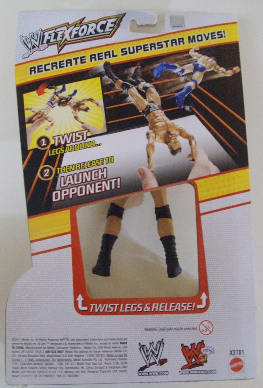 WWE Flex Force Scissor Kickin' Randy Orton wrestling figure ( WWF TNA ) - New