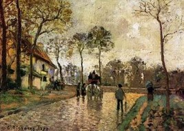 12X16 inches Pissarro Camille Stagecoach to Lou... - $13.70