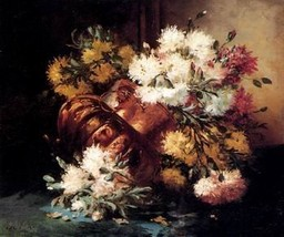 12X16 inches Cauchois Eugene Hei Canvas Print Still Lifes Of Spring And ... - $13.70