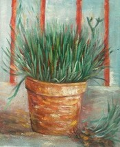20X24 inch Still Life Hand-painted Oil Painting Plant - $13.69