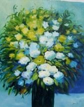 20X24 inch Hand-painted Oil Painting Impressionism Flowers - $5.85