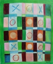 20X24 inch Hand-painted Abstract Oil Painting M... - $5.85