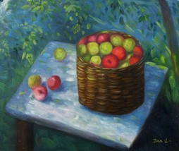 20X24 inch Hand-painted Still Life Oil Painting... - $5.85