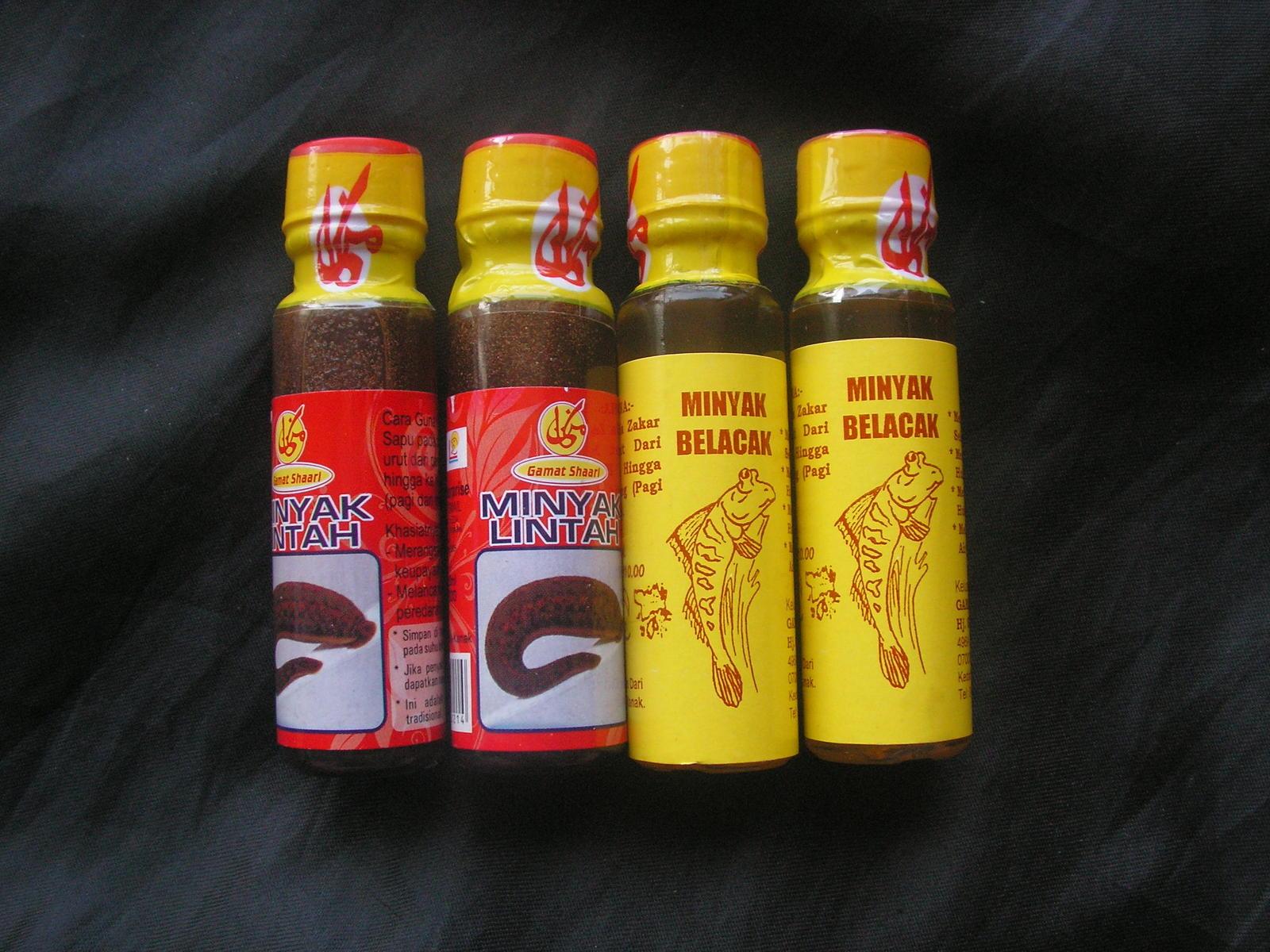 trial pack 2x20ml leech oil 2x27ml mudskipper oil