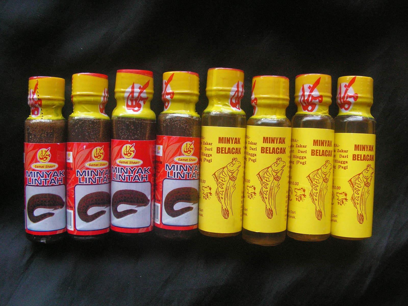 trial pack 4x20ml leech oil 4x27ml mudskipper oil