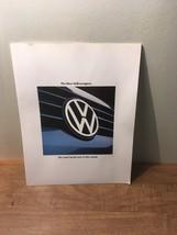 1993 Volkswagen Line Sales Brochure / Literature - $11.87